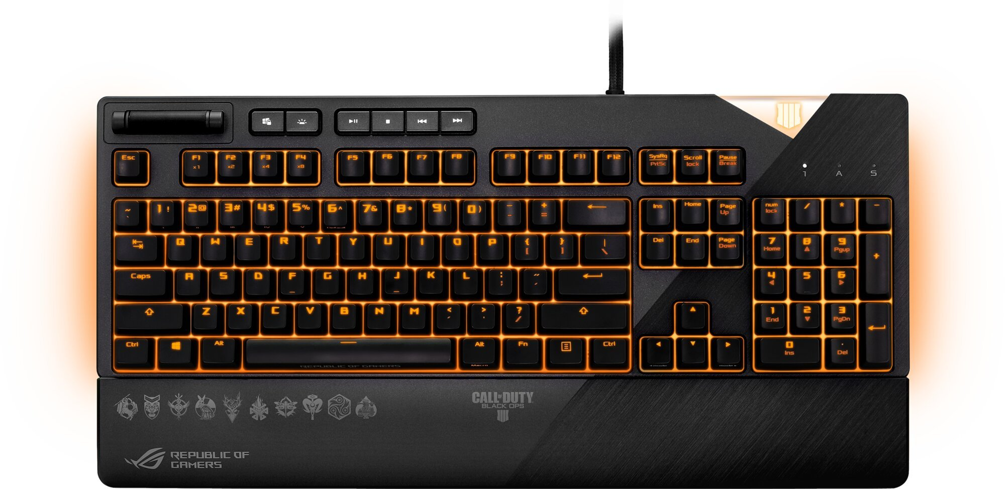 ASUS ROG STRIX Flare, Cherry MX Red,Call of Duty Edition, US