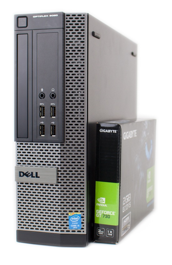 Dell Optiplex 9020 SFF 240 GB SSD 8 GB Gigabyte GT 730 2 GB