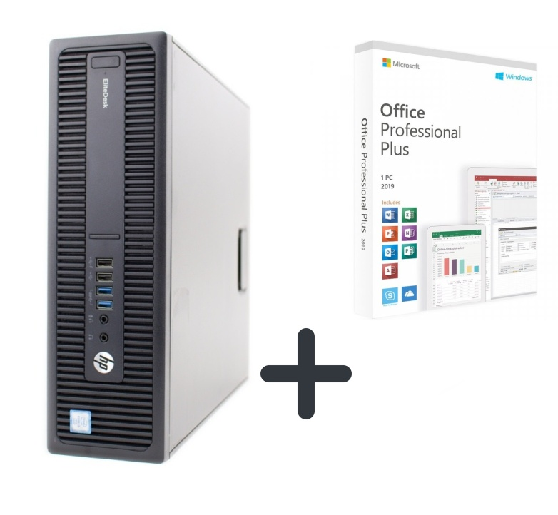HP EliteDesk 800 G2 SSD 240 8GB RAM + zdarma Office 2019