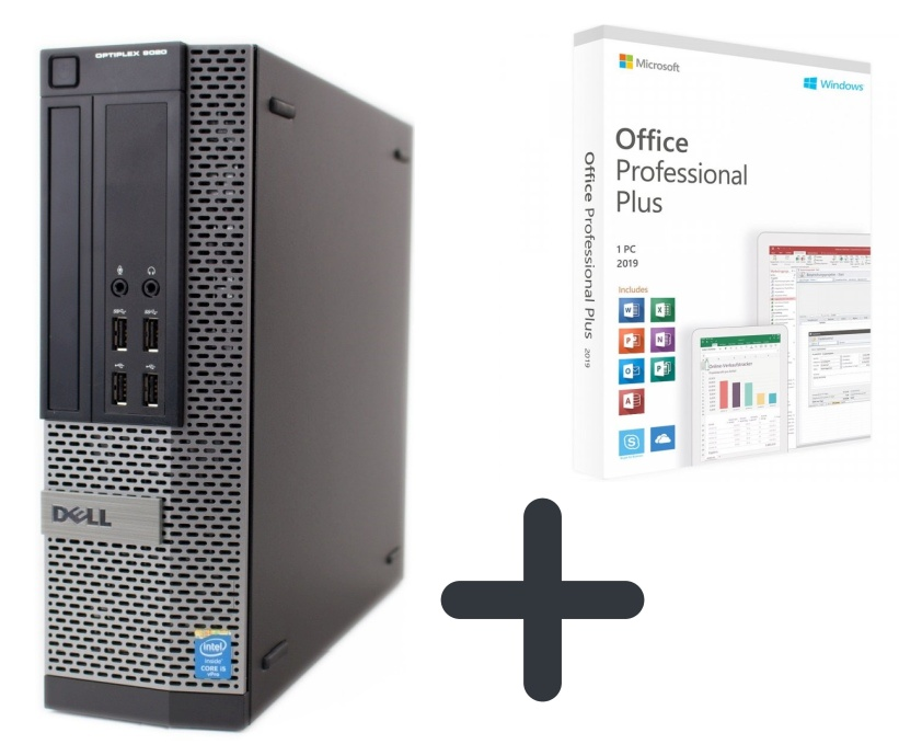 Dell Optiplex 9020 SFF 240 GB SSD 8 GB + Microsoft Office 2019