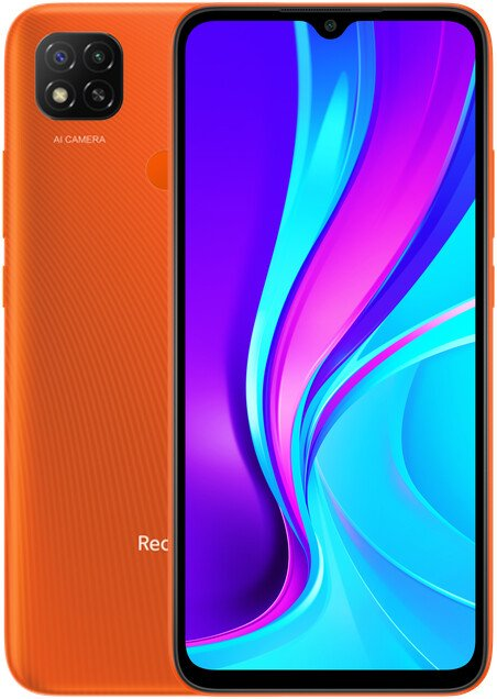 Xiaomi Redmi 9C NFC 3GB/64GB, Sunrise Orange