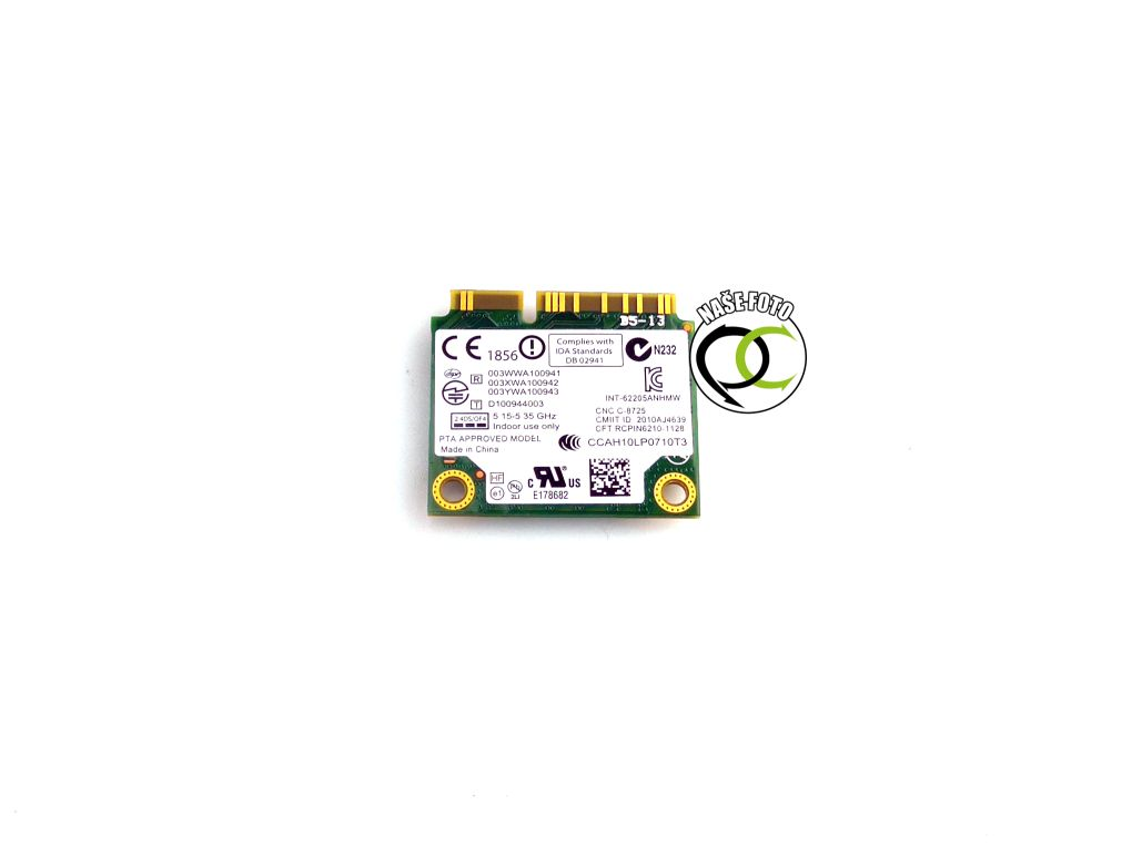 Dell Intel Centrino WiFi Advanced-N 6205 0X9JDY