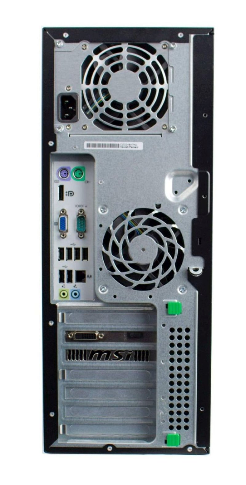 HP Compaq Elite 8100  Convertible Minitower i3-530 ITX 1030 GeForce